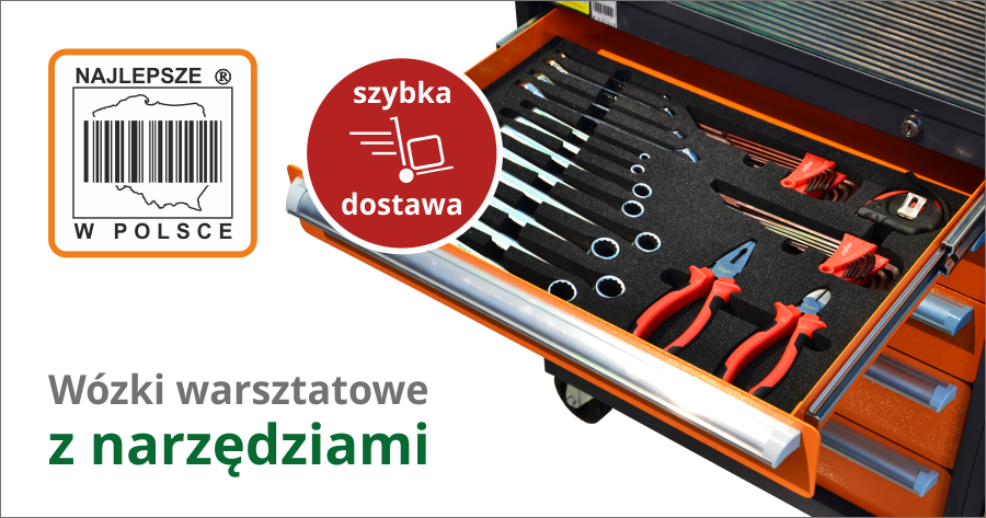 Wózki z narzędziami