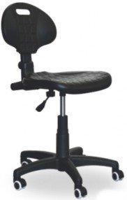Krzesło warsztatowe na kołach