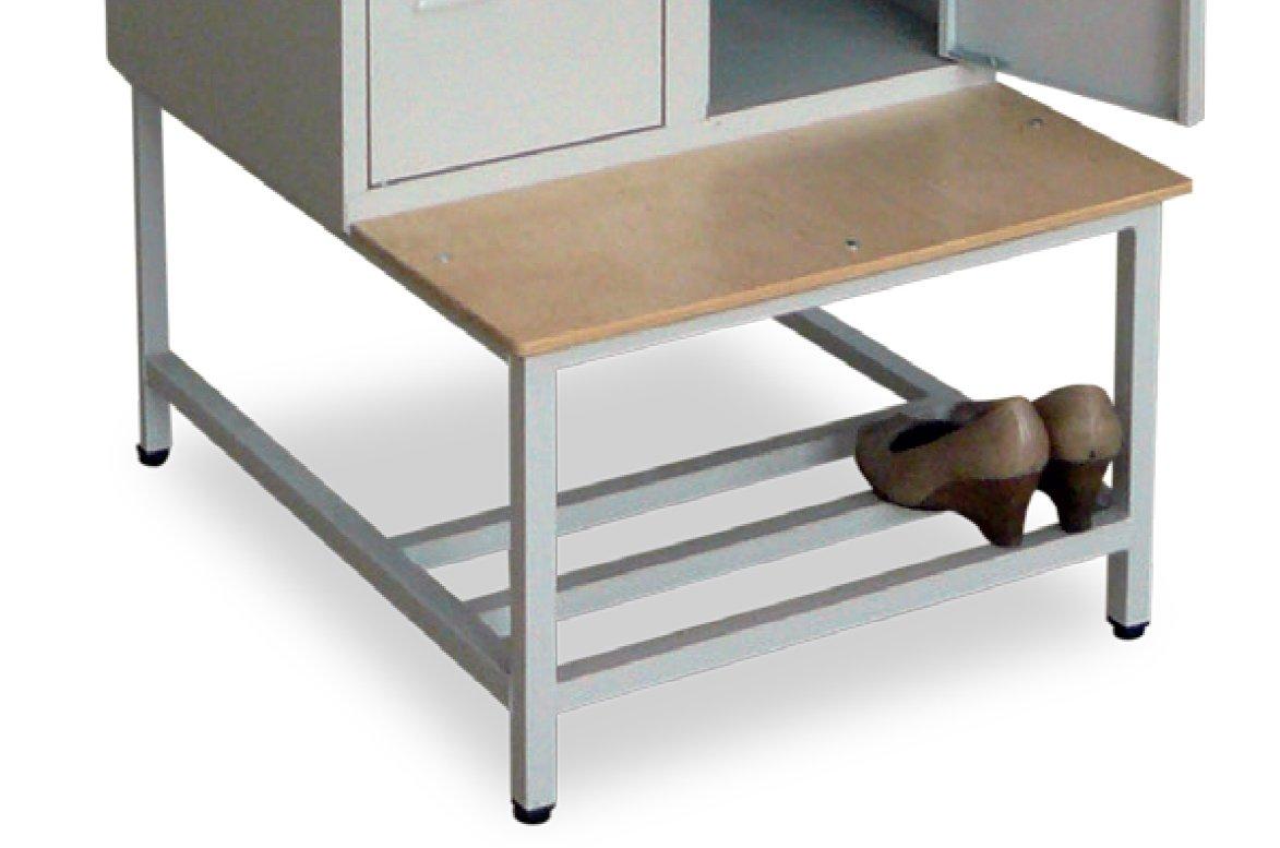 Ławka pod szafę ŁS-600/JS z półką