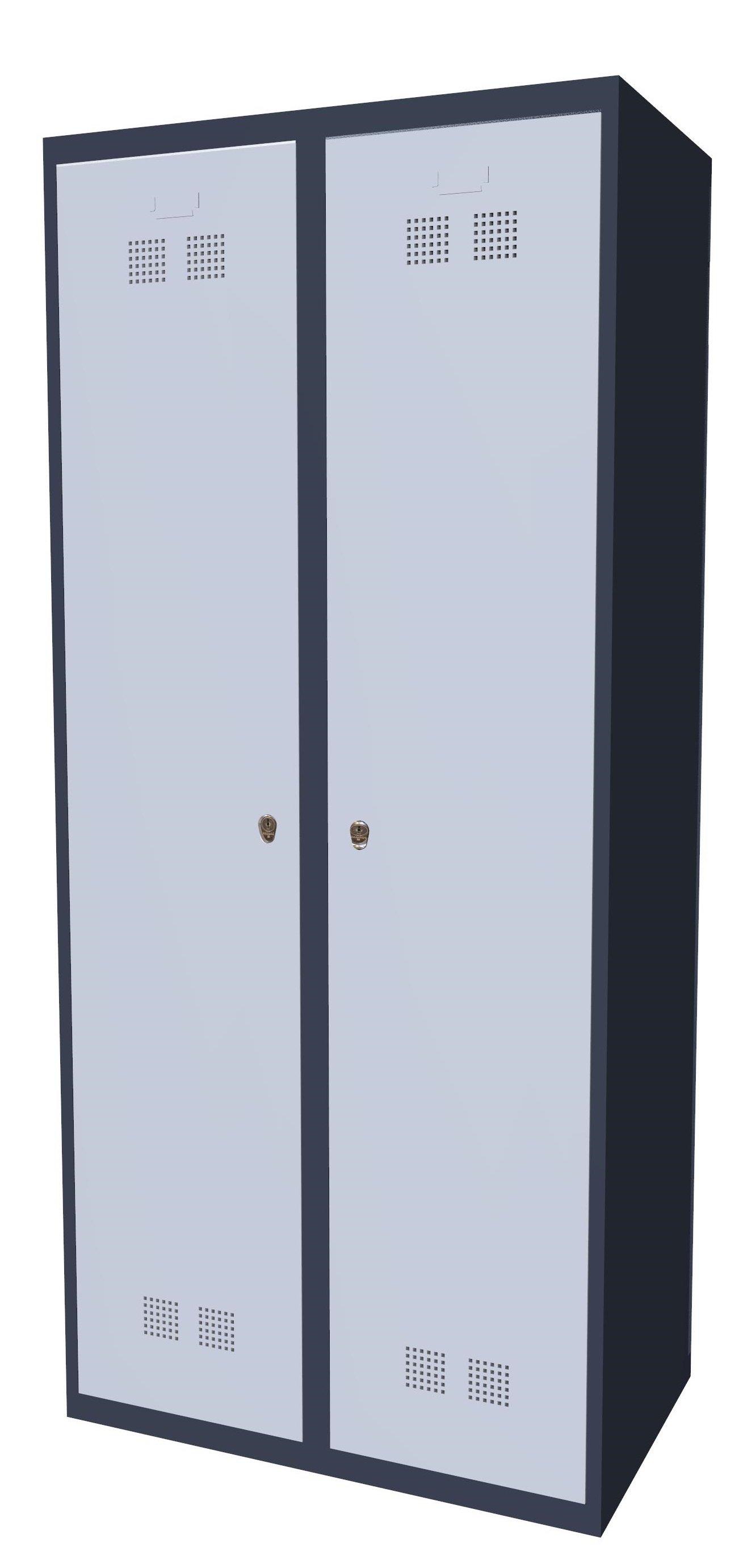 Szafka ubraniowa pracownicza SUP E400-02 7024/7035
