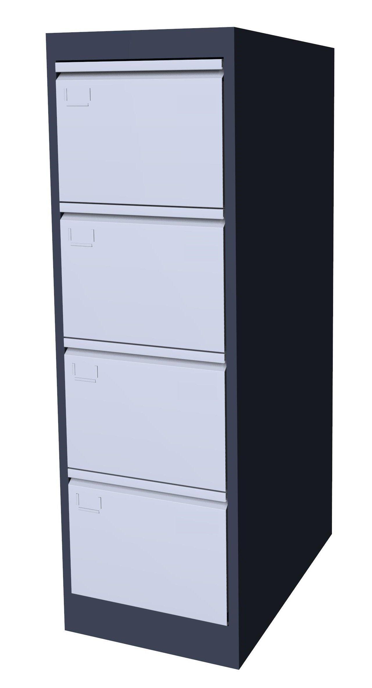 Szafa kartotekowa SK-A4/4 7024/7035