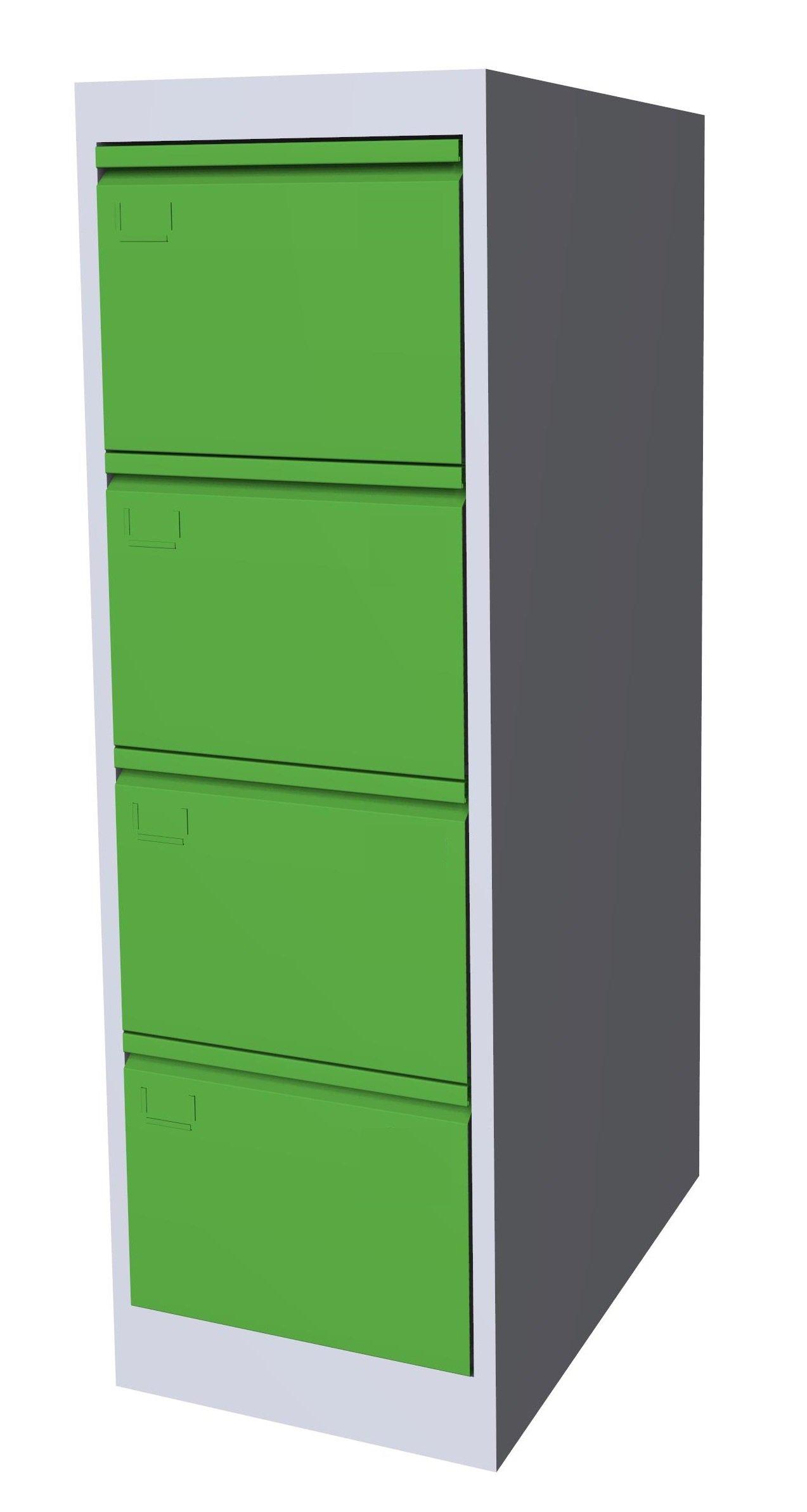 Szafa kartotekowa SK-A4/4 7035/6018