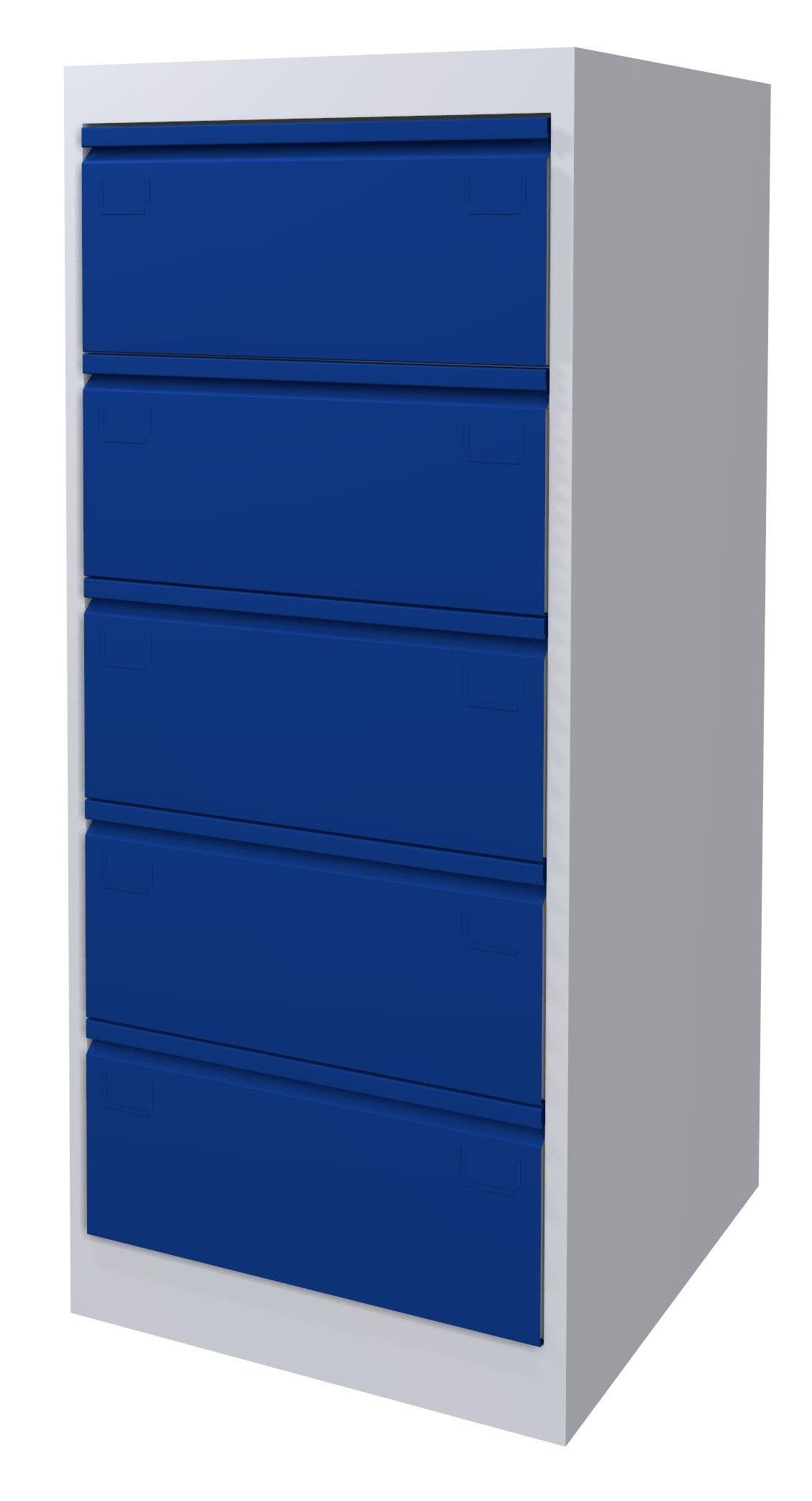Szafa kartotekowa SK-A5/5/2 7035/5005