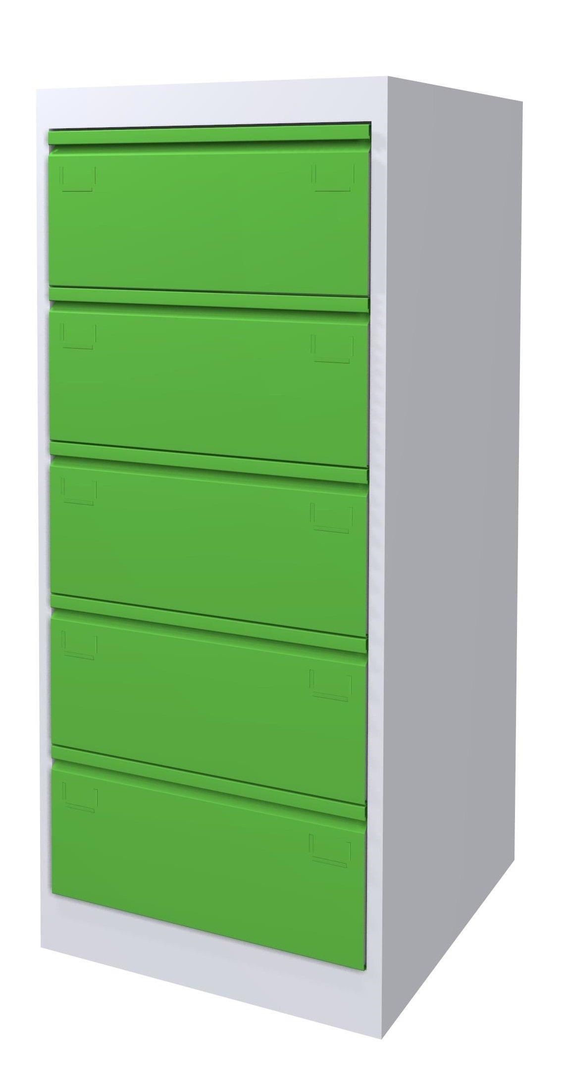 Szafa kartotekowa SK-A5/5/2 7035/6018