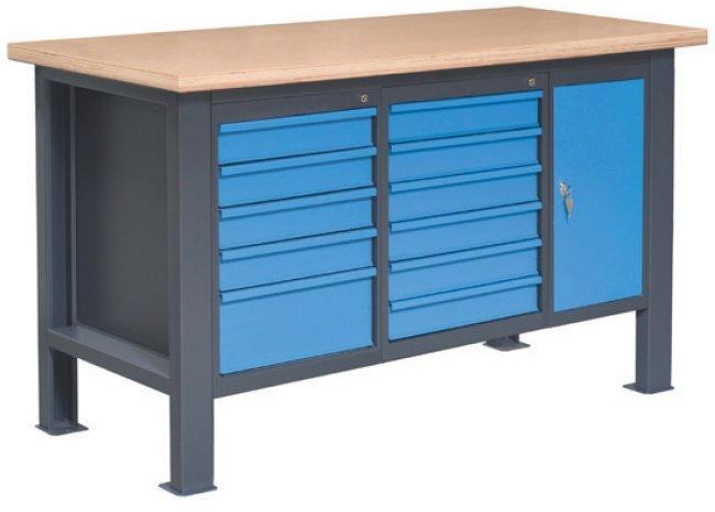 Stół warsztatowy PL02L/P4P3P10