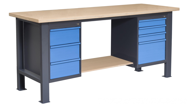 Stół do warsztatu typu PL03L/P8/PL810/P4