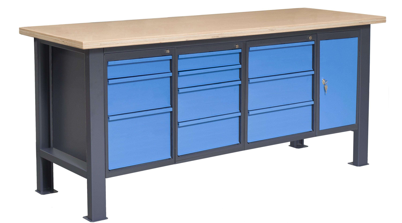 Stół do warsztatu typu PL03L/P5P7P8P10