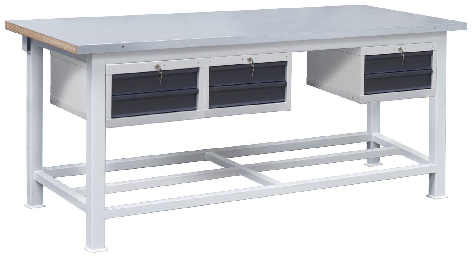 Ciężki stół warsztatowy 3t/P12P12P12