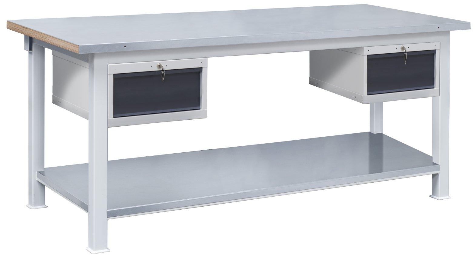 Ciężki stół warsztatowy 3t/P13P13/POC179