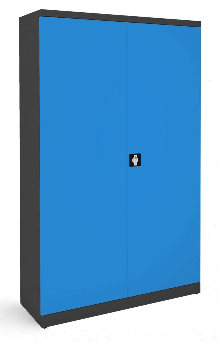 Szafa na dokumenty SB 1200 grafitowo-niebieska