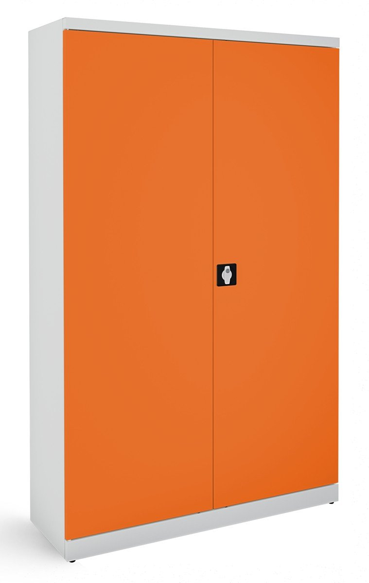 Szafa na dokumenty SB 1200 popielato-pomarańczowa