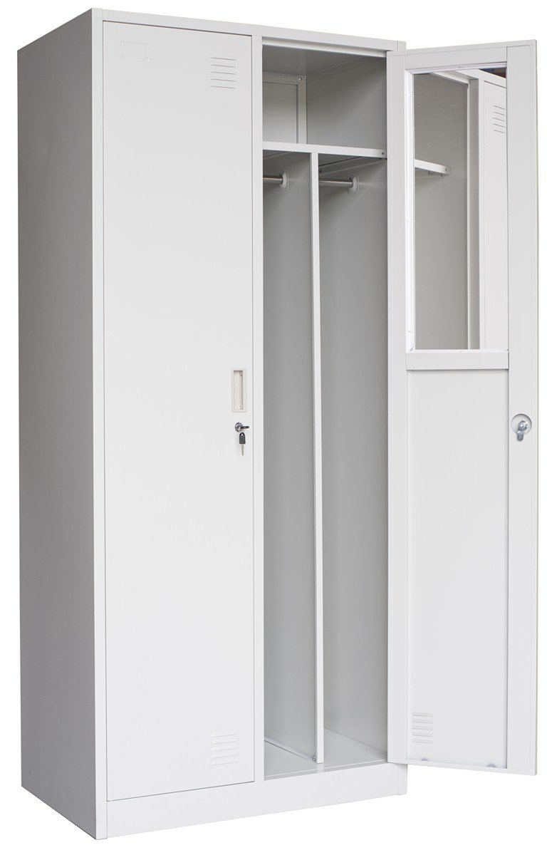 Metalowa szafa ubraniowa SUE 800/500