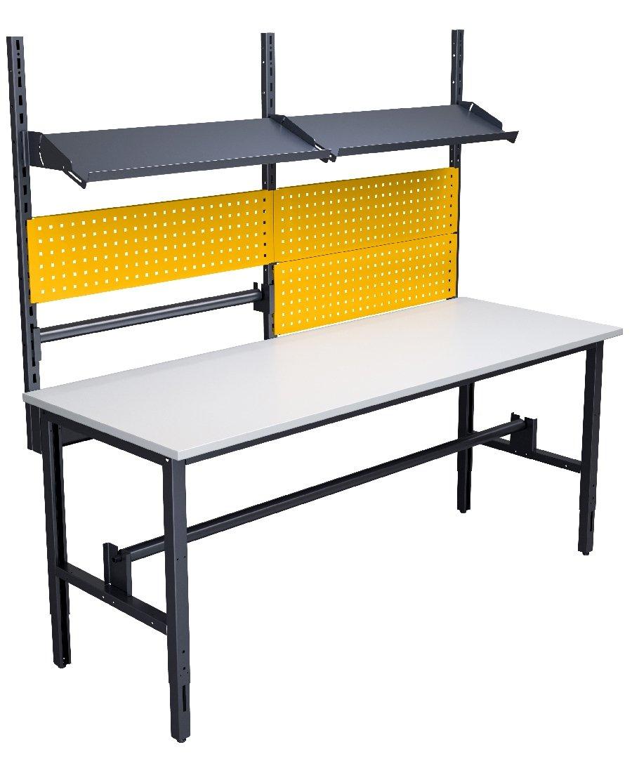 Stół do pakowania o szerokości 2000 mm wersja 02