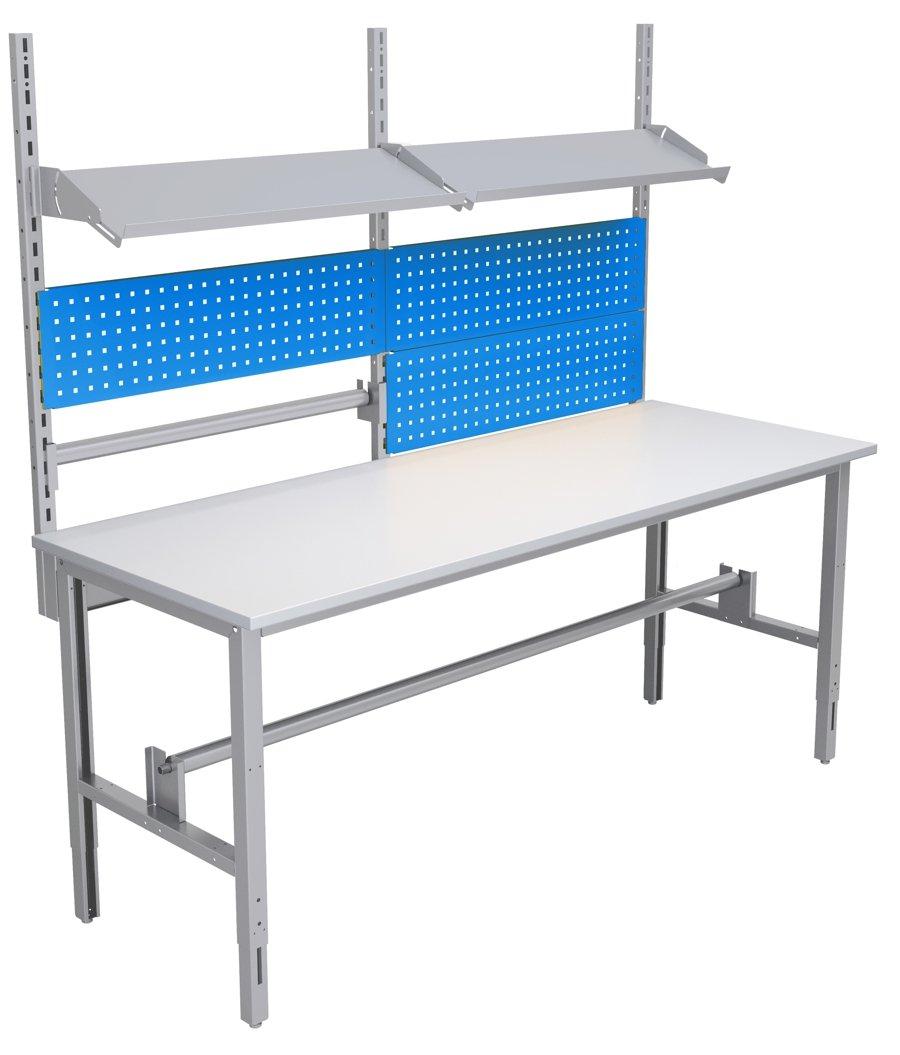 Stół kompletacyjny o szerokości 2000 mm wersja wyposażenia 02