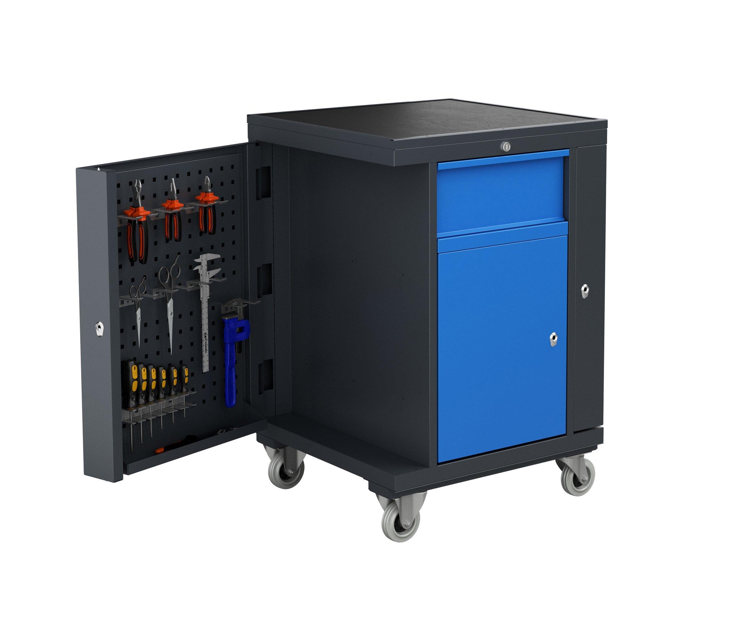 Wózek warsztatowy TWS PLUS z modułem O3