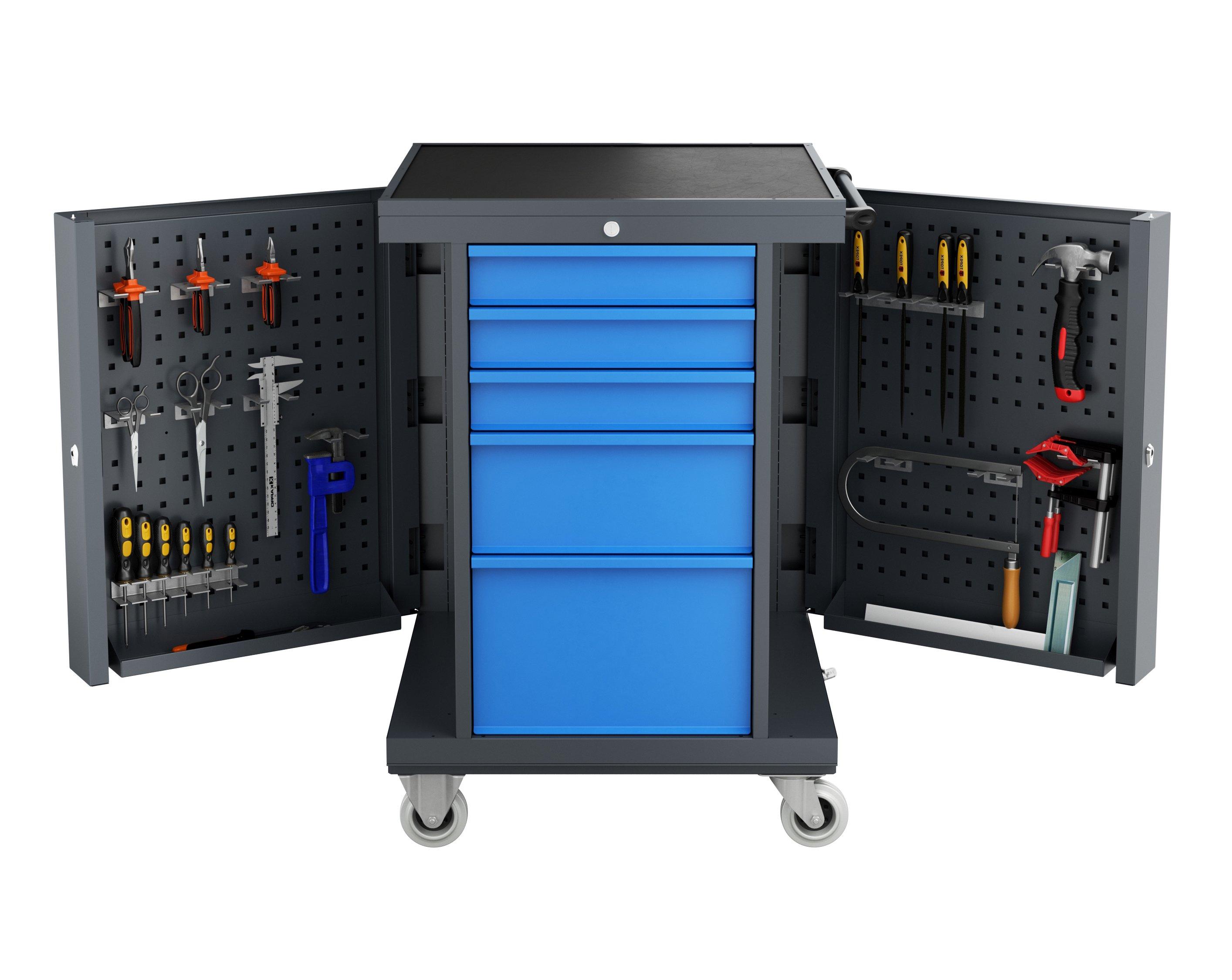 Wózek warsztatowy TWS PLUS z modułem O4