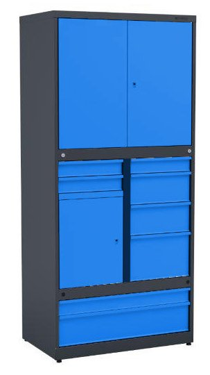Metalowa szafa narzędziowa TSS/0207