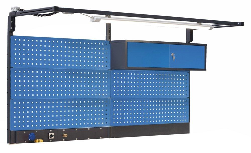 Nadbudowa typu PL03/5T/S L10 z przyłączami i lampą LED