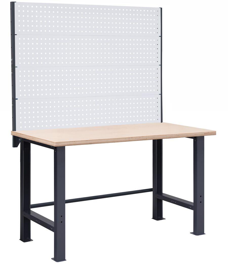 Stół warsztatowy OL02 z nadbudową PL02/4T