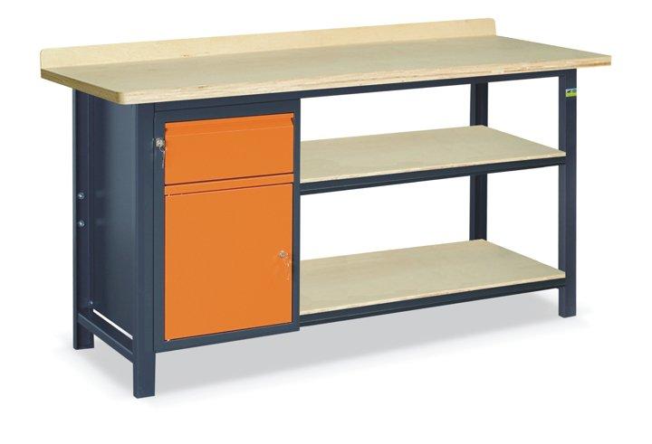 Stół warsztatowy SS02L/B/2PL90