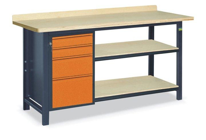 Stół warsztatowy SS02L/E/2PL90