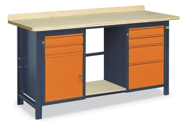 Stół warsztatowy SS02L/C/PL45/E