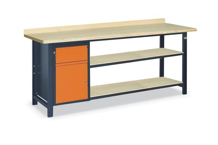 Stół warsztatowy SS03L/B/2PL135
