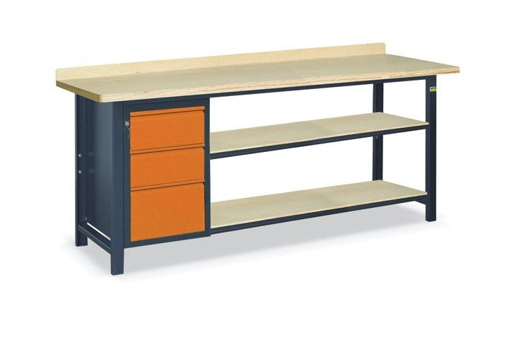 Stół warsztatowy SS03L/D/2PL135