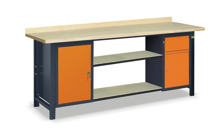 Stół warsztatowy SS03L/A/2PL90/B