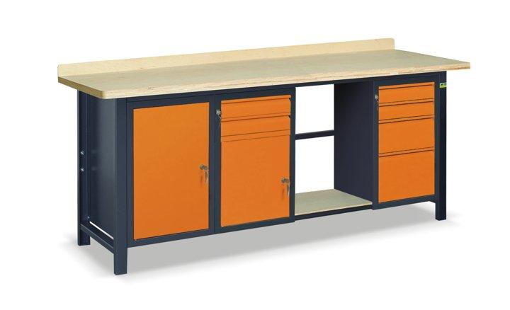 Stół warsztatowy SS03L/AC/PL45/E