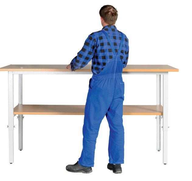 Stół kompletacyjny z półką 630 mm