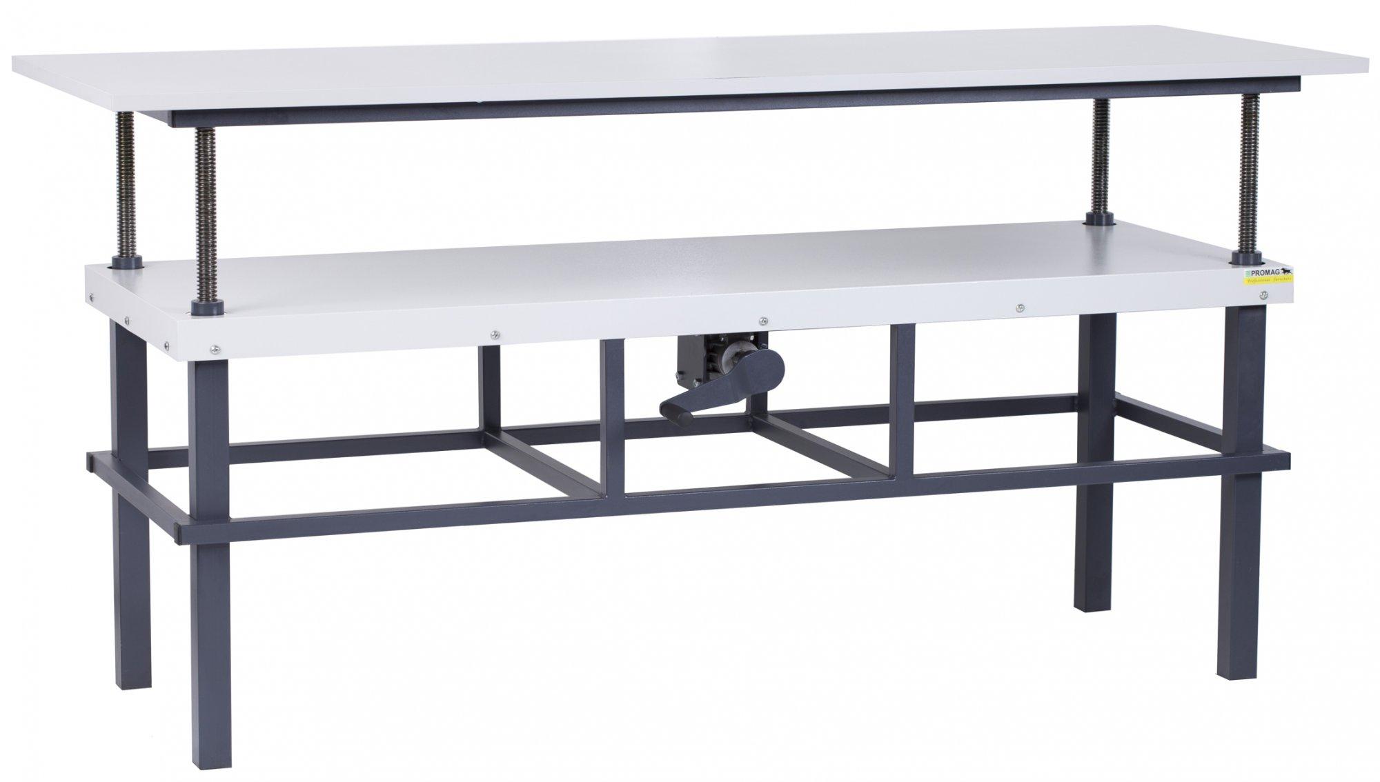 Stół kompletacyjny z płynną regulacją wysokości