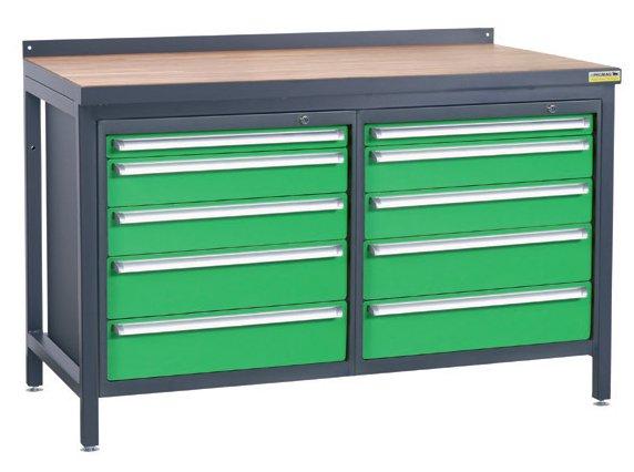 Stół warsztatowy PSS02D/L4L4