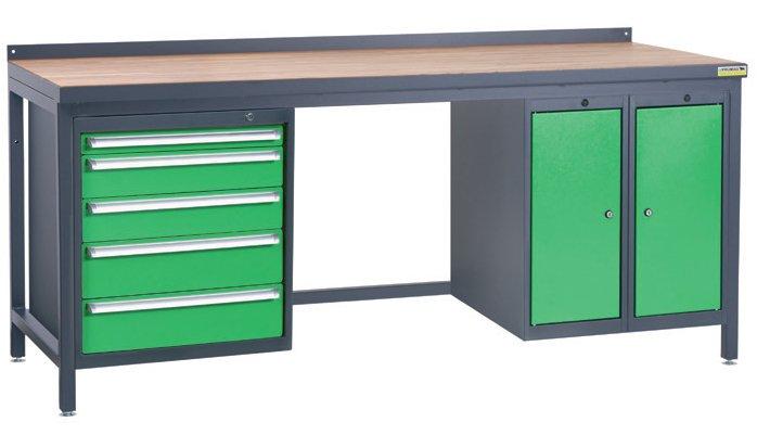 Stół warsztatowy PSS03D/L4L10L10