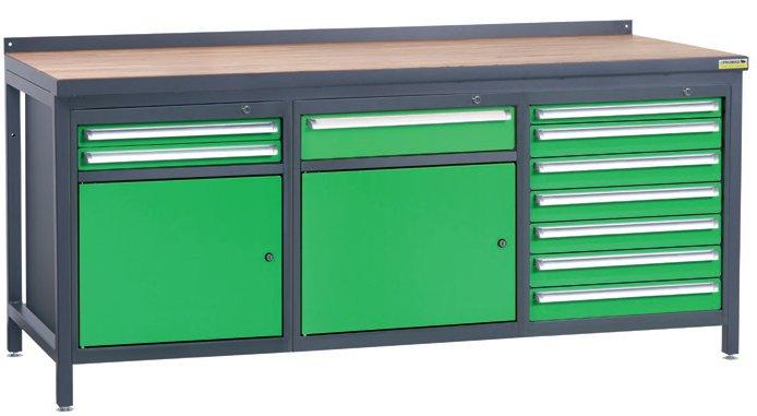 Stół warsztatowy PSS03D/L2L3L8