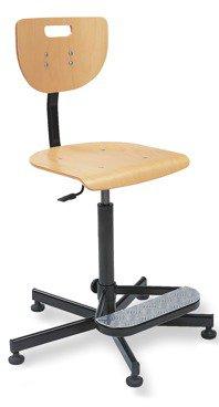 Krzesło warsztatowe WEREK + foot base